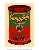 Campbell's Soup Can, 1965 (Green and Red) Lminas por Andy Warhol