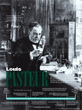 Louis Pasteur - Microbiologist and Chemist Wall Poster