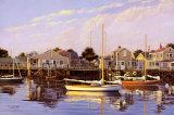 Calme parfait, Nantucket Affiches par Sergio Roffo