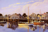 Dead Calm, Nantucket Poster by Sergio Roffo