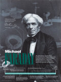 Michael Faraday Affiches