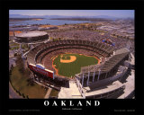 Oakland: Network Associates, Athletics Baseball Posters by Mike Smith