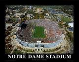 Notre Dame Stadium Posters
