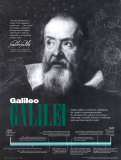 Galileo Galilei Plakat