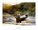 Boy Fishing, 1892 Posters by Winslow Homer