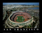 San Francisco: 3COM at Candlestick Park, 49ers Posters by Mike Smith