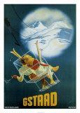 Gstaad Posters par Martin Peikert