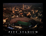 Pitt Stadium: Final Game Posters av Mike Smith