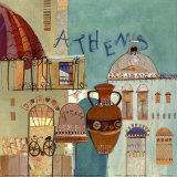 Athens Prints by Katherine &amp; Elizabeth Pope