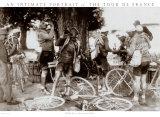 Tour de France, Drikkende cykelryttere Plakater