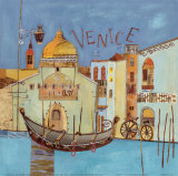 Venice Poster by Katherine &amp; Elizabeth Pope