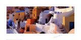 Greek Village Art by Georges Meis