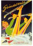 Grindelwald Posters por Martin Peikert