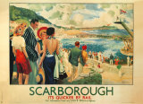 Scarborough, 1928 Posters by E. Oakdale