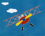 Cat in a Plane II Posters by Shelly Rasche