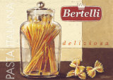 Pasta Italiana Posters by Bjorn Baar