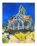 Kirche von Auvers-sur-Oise Poster von Vincent van Gogh
