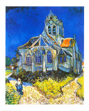 Church at Auvers, c.1895 Posters by Vincent van Gogh