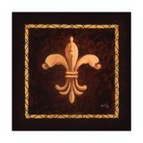 Fleur De Lys - King Charles VII Giclee Print by Marilyn Bast Dunlap