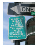 Only in New Orleans - Drinking in the Streets Photographic Print by Kya Sainsbury-Carter