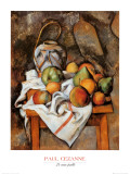 La Vase Paille Prints by Paul Cézanne