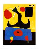 Femme Assise Affiches par Joan Miró