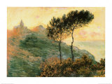 The Church at Varengeville, c.1882 Print by Claude Monet