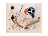Lyric Composition Print by Wassily Kandinsky