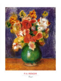 Bouquet Posters by Pierre-Auguste Renoir