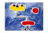 Figur Vor Roter Sonne ポスター : ジョアン・ミロ