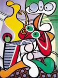 円卓の上の大きな静物(1931年) アート : パブロ・ピカソ