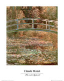 Water Lily Pond Poster af Claude Monet