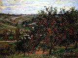Apple Trees in Bloom at Vetheuil 1887 Láminas por Claude Monet