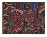 City 366 Collectable Print by  Kimura