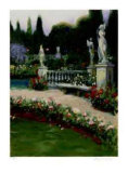 European Garden I Collectable Print by Greg Singley