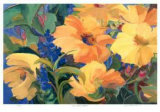 Sun Filled Flowers Limited Edition by Zora Buchanan