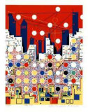 City 369 Collectable Print by  Kimura
