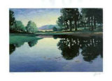 Meadows and Ponds II Collectable Print by Max Hayslette