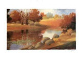 Rivers at Sunrise I Collectable Print by Max Hayslette