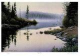 Misty Shore Sammlerdrucke von J. Vanderbrink