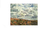 Swirling Clouds Over Albercorn Limited Edition by Catherine Perehudoff