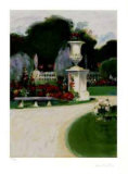 European Garden II Collectable Print by Greg Singley