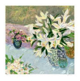 Still Life with Lilies II Collectable Print by Ellen Gunn
