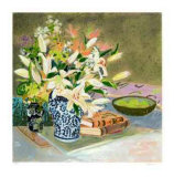 Still Life with Lilies I Limited Edition by Ellen Gunn