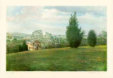 Landscape with New Construction Limited Edition by D. Dallman