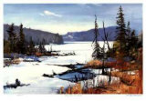 Loon Lake in April Limited Edition by Murray McCheyne Stewart