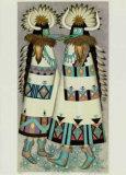 Shalako Dancer Reproduction pour collectionneurs par Alice Asmar