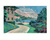 Lake Como Vista Limited Edition by Robert Schaar