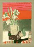 Fleurs de Banquet Collectable Print by Rene Genis