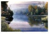 Herbstnebel Limitierte Auflage von J. Vanderbrink